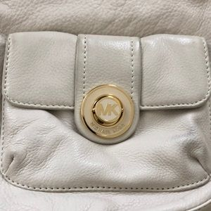 Cream Michael Kors Shoulder Bag